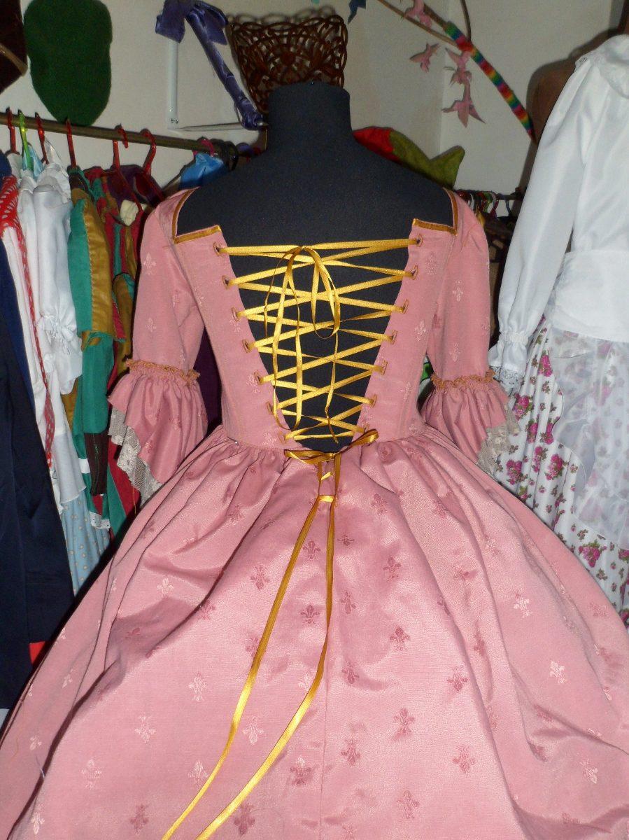 Vestido Disfraz De Dama Antigua Adulto - $ 2.950,00 en Mercado Libre