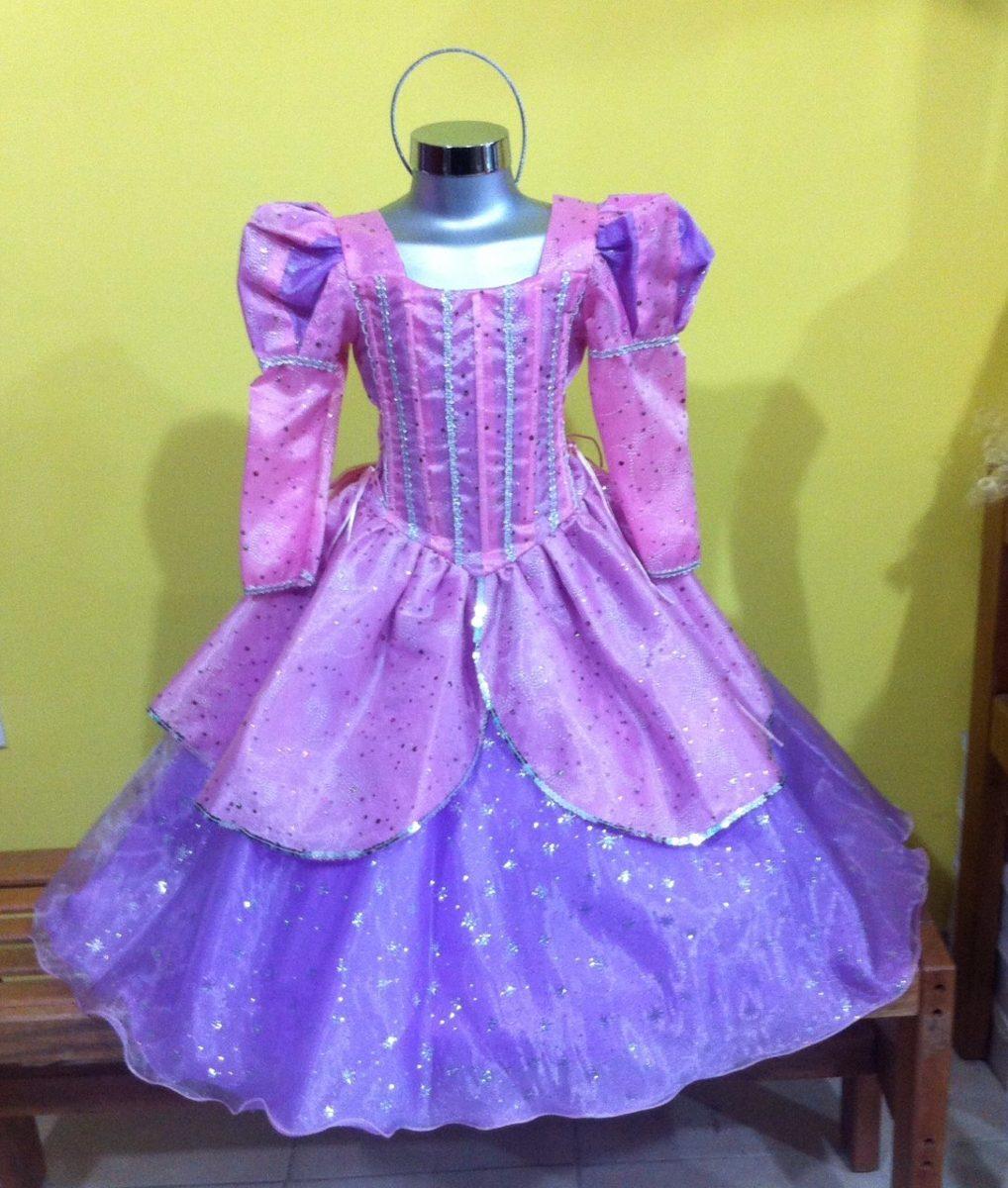 Vestido Disfraz De Princesa Ariel La Sirenita