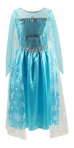 vestido disfraz frozen elsa regalo cumpleaños
