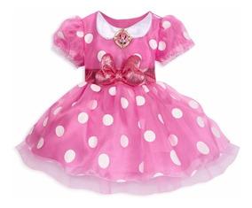 Vestido Disfraz Minnie Mouse Bebe Disney Store Original