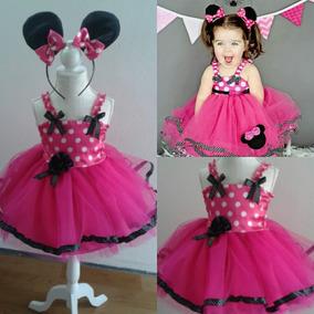 Vestido Disfraz Minnie Talle 1 Año Consulte X Mas Grandes