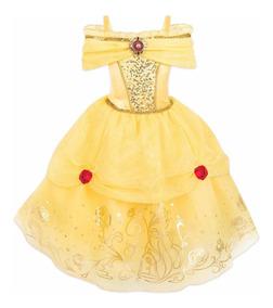 Vestido Disfraz Princesa Bella Modelo 2019 Disney Store