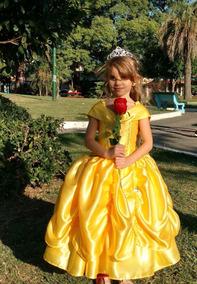 Vestidos De Princesas De Bella Disfraces Para Niñas En