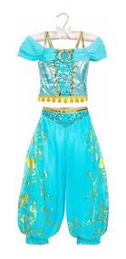 Vestido Disfraz Princesa Jazmín 100 Original Disney Store