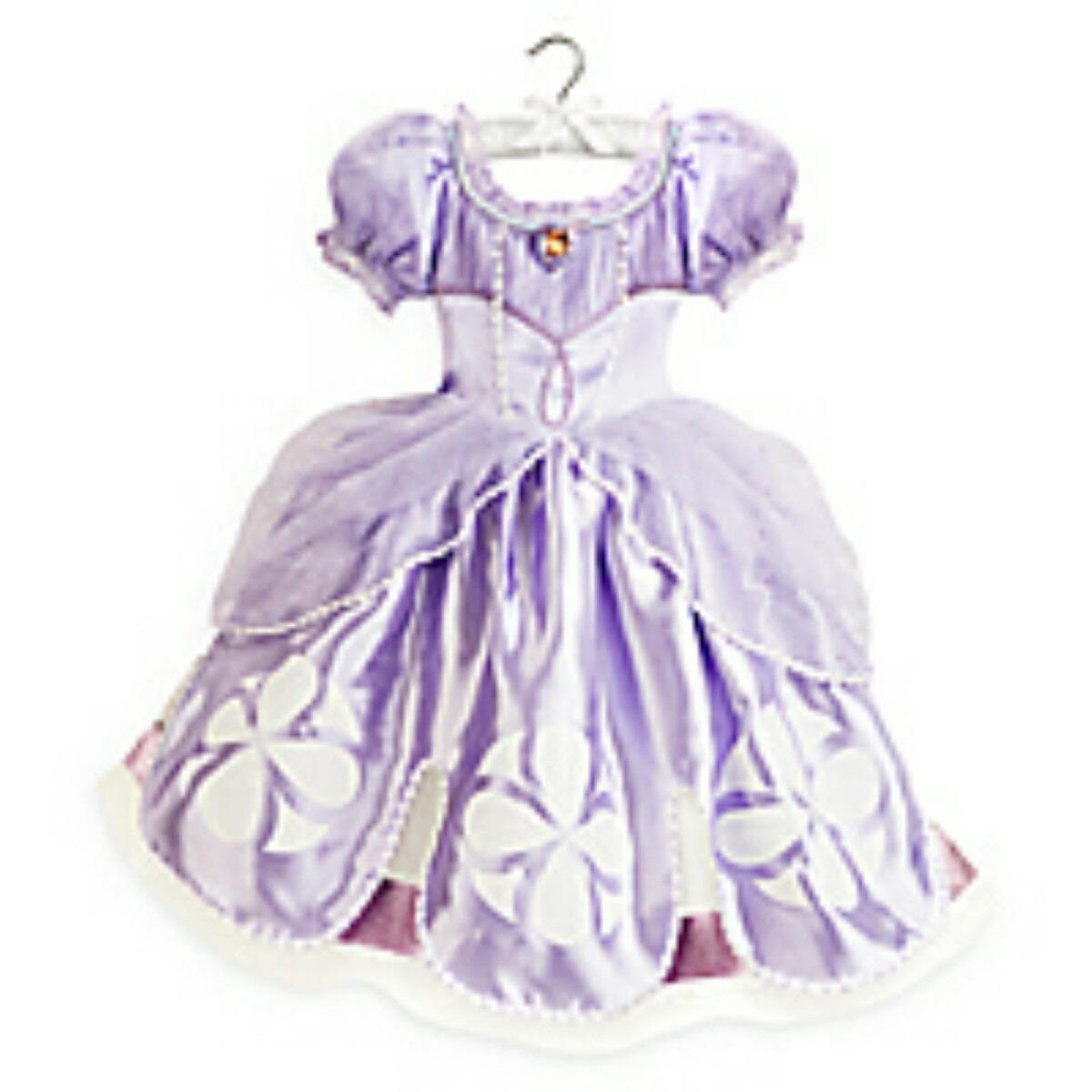 Vestido Disfraz Princesa Sofia Original Disney Store