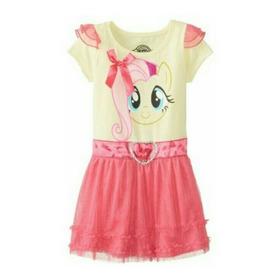 Vestido Disfraz Tull My Little Pony. T. 2. Celeste O Rosa!!