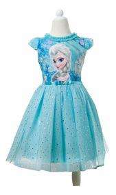 Vestido Disney Store Frozen Tutu Elsa