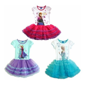 Vestido Disney Store Tutu -  Frozen Elsa