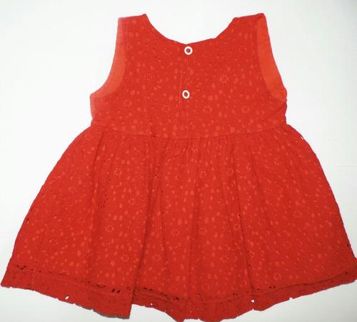 vestido djiele vermelho