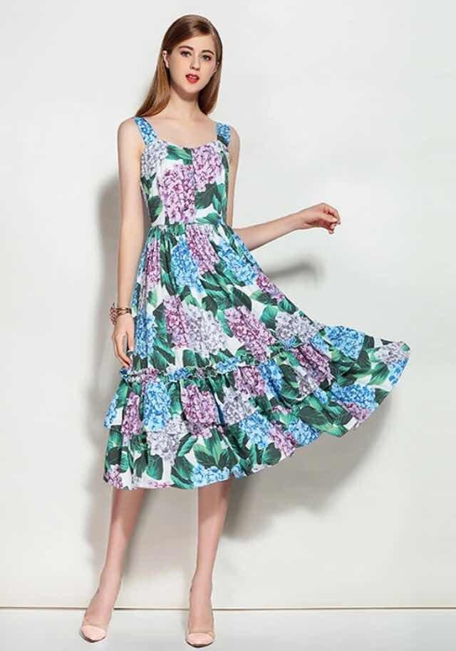 e8c125d74aa98 Vestido Dolce Gabbana Inspired - R  400,00 em Mercado Livre