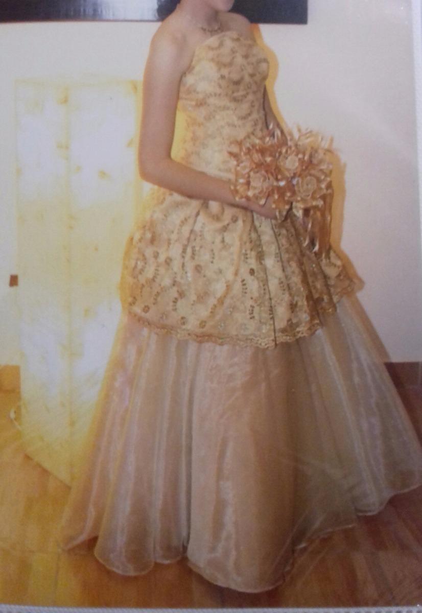 Vestido Dorado