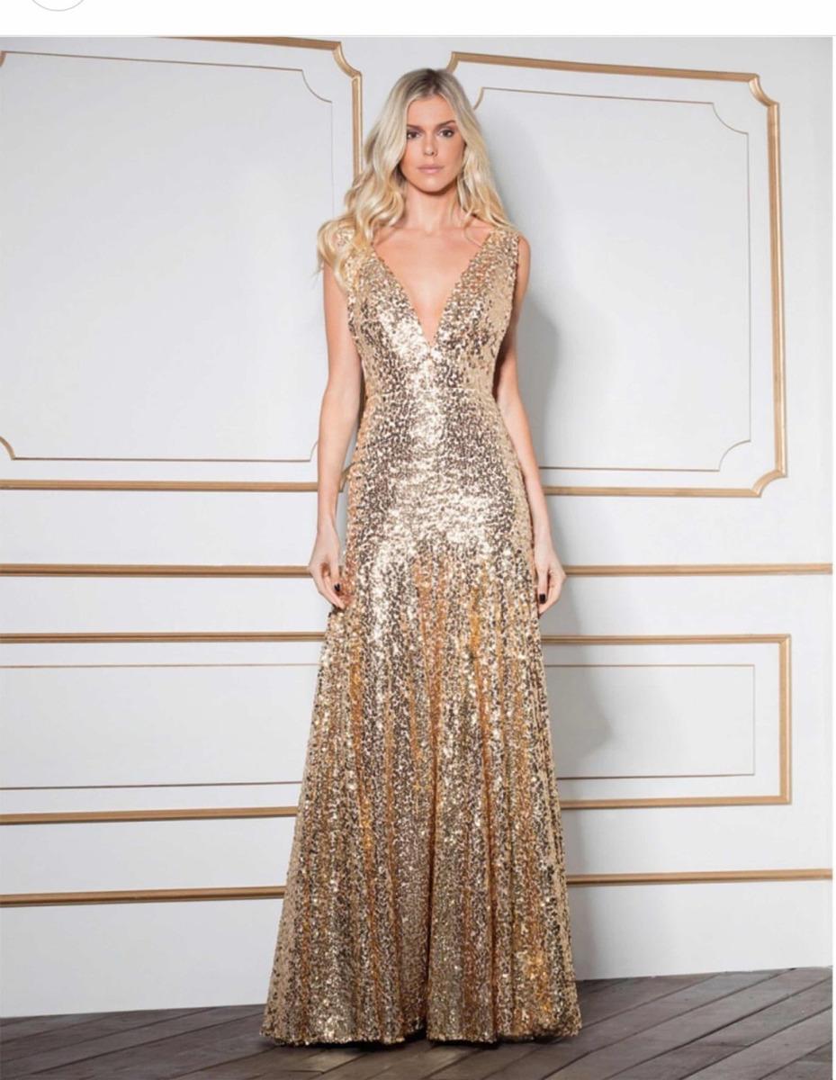 b0f3e07fe vestido dourado fabulous agilita. Carregando zoom.
