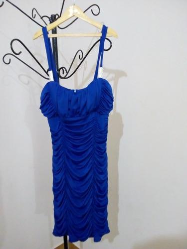 vestido drapeado importado
