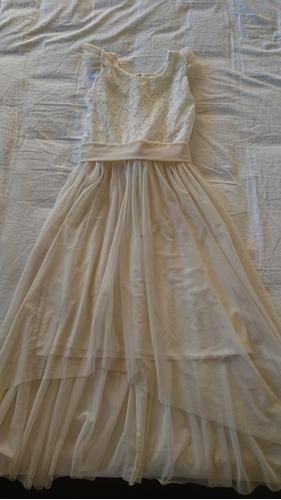 vestido dulce victoria talla 10-11 un uso.