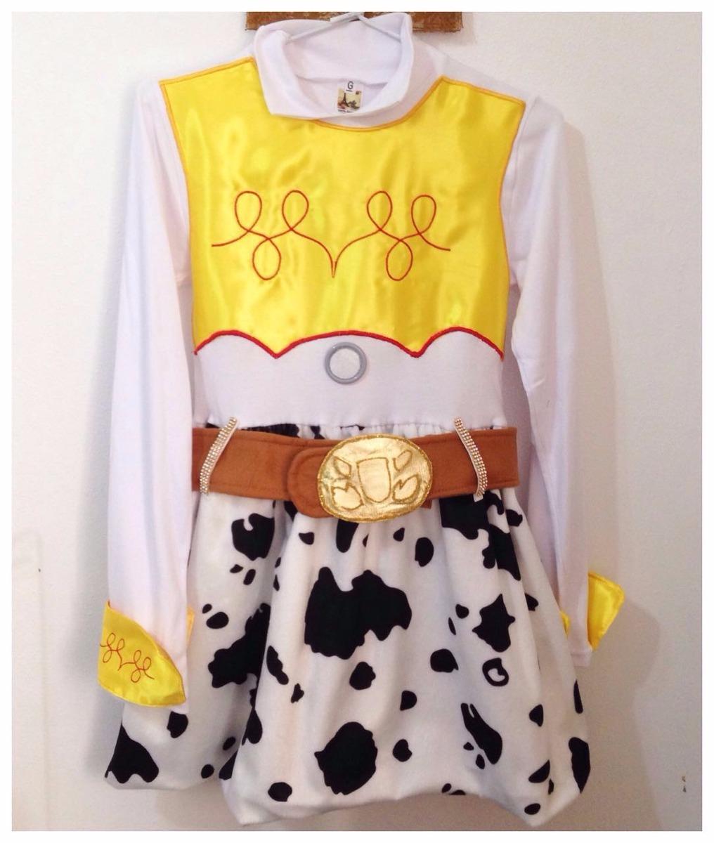 vestido e chapéu fantasia jessie toy story. Carregando zoom. a7ec4168cee