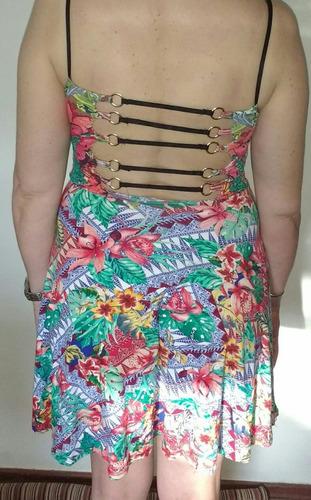vestido elastizado corto, última moda