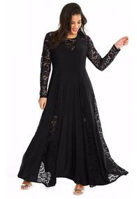 Vestido Elegante Casual Fiesta Noche Talla Plus