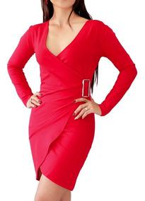 5bc66fa2f810 Vestidos Fiesta Cortos Rojo Casuales Mujer - Vestidos de Mujer Rojo ...