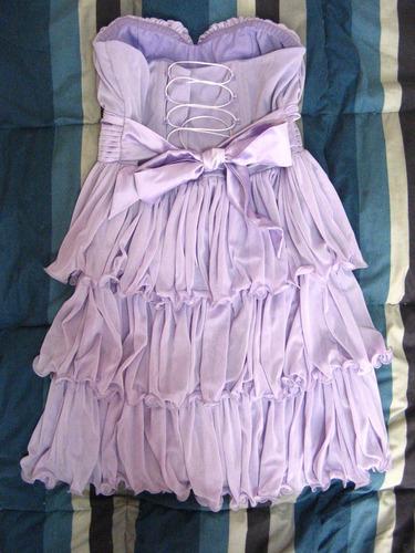 vestido elegante de fiesta