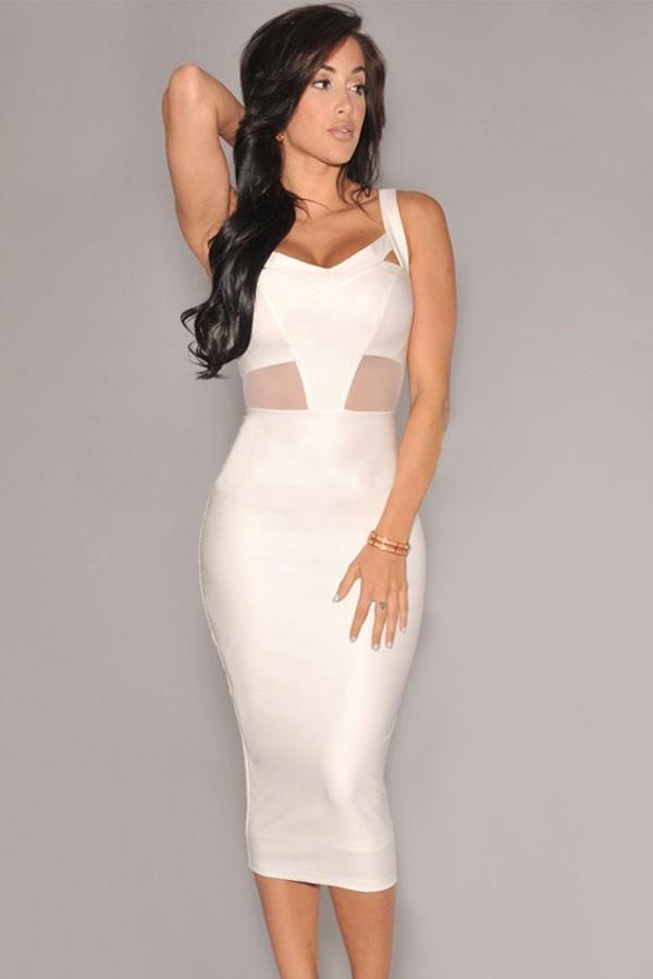 c47f75cbb Vestido blanco corto elegante bogota – Los vestidos de noche son ...