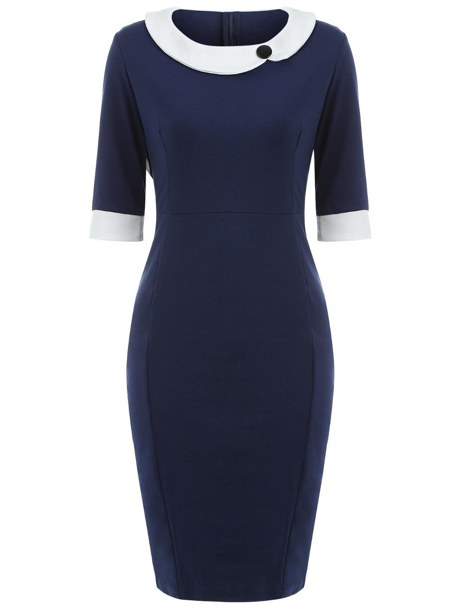 b85e0d5e4 vestido elegante formal mujer para evento   negocio  oficina. Cargando zoom.
