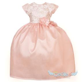 e994f37837 Vestido Elegante Hermoso Ceremonia Fiesta Niña 1778