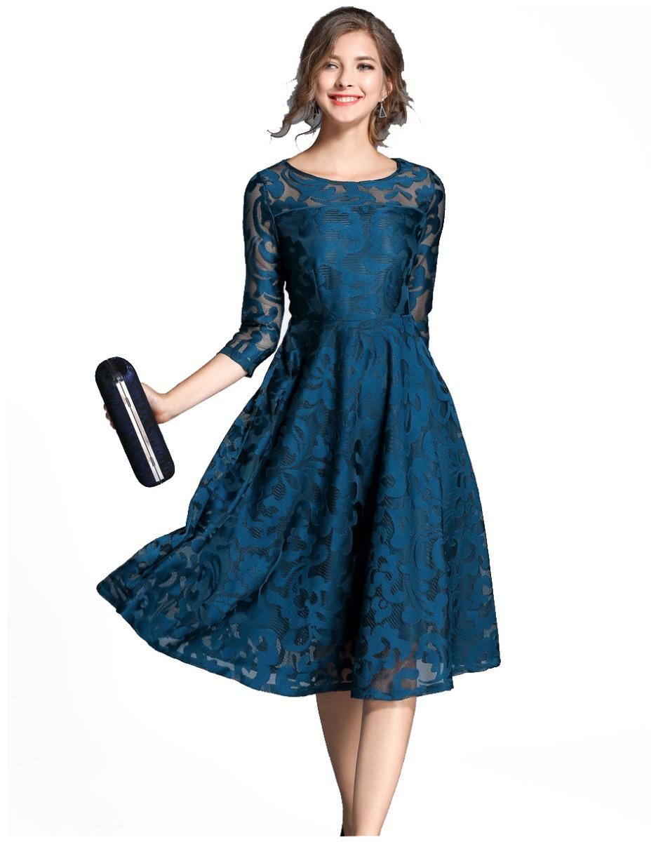 756e2b26827 Vestido Elegante Para Dama De Noche Mujer Fiesta Evento -   173.000 ...