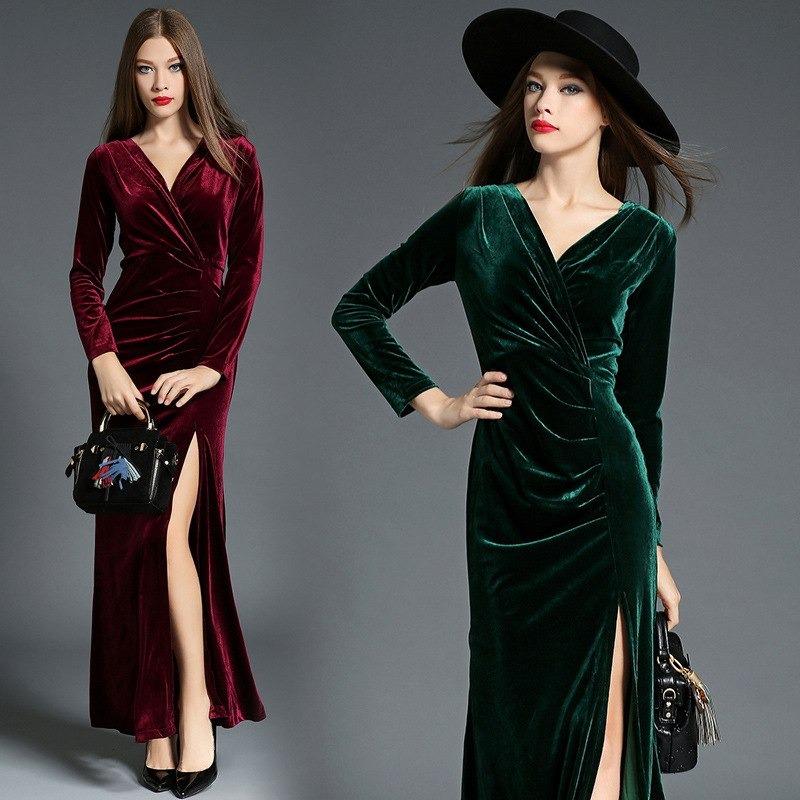 Vestidos elegantes para noche