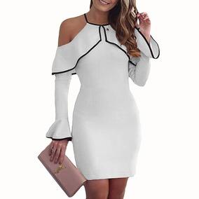 Vestidos Bordados Modernos Vestidos Largo Blanco En