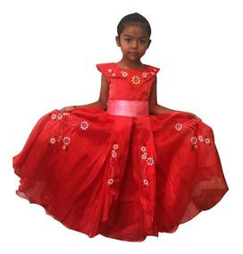Vestido Elena De ávalor Disney Princesas Niña Envío Gratis