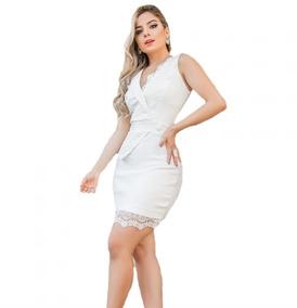 7afd83c42 Vestido Alfaiataria Luxo Executiva - Vestidos Femininas no Mercado ...