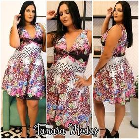 df6187645 Vestido Posthaus Plus Size - Vestidos Femininas em Sorocaba no Mercado  Livre Brasil