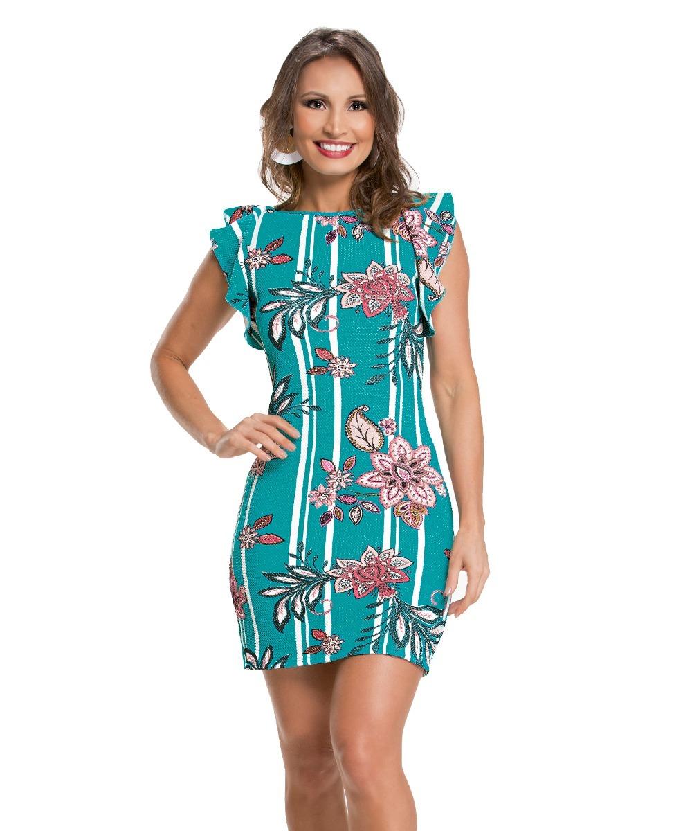 e1acb7244 Vestido Em Malha Piquet Com Elastano - R$ 88,00 em Mercado Livre