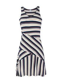 8b43ec0f53c4 Vestido Hering Listrado De Alça - Calçados, Roupas e Bolsas com o Melhores  Preços no Mercado Livre Brasil