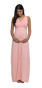 Vestido Embarazada Maternidad Baby Shower 3 Talla S Jezero