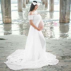 bien fuera x primer nivel último descuento Vestido Embarazo,sesion De Fotos,maternidad,importado,nuevo