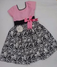fd7c12674c Vestido Negro Manga Ziza Ninas - Vestidos Cortos para Niñas en ...