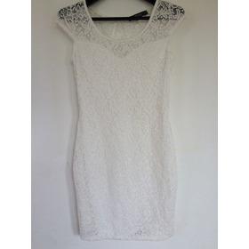 Vestido Encaje Blanco De Nueva York
