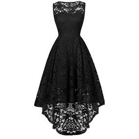 17c39cf31 Vestidos Bordados Oaxaqueños Negro - Vestidos 4 en Mercado Libre México