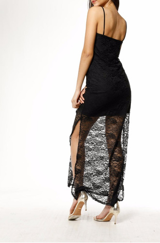 vestido encaje largo jellydolly  jds17019 venta por mayor