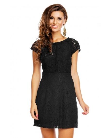 Vestido Negro Vestido Tipo Negro Encaje Zara Encaje N8m0Owyvn