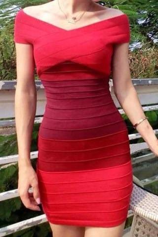 vestido entallado bodycon tejido stretch talla s en stock