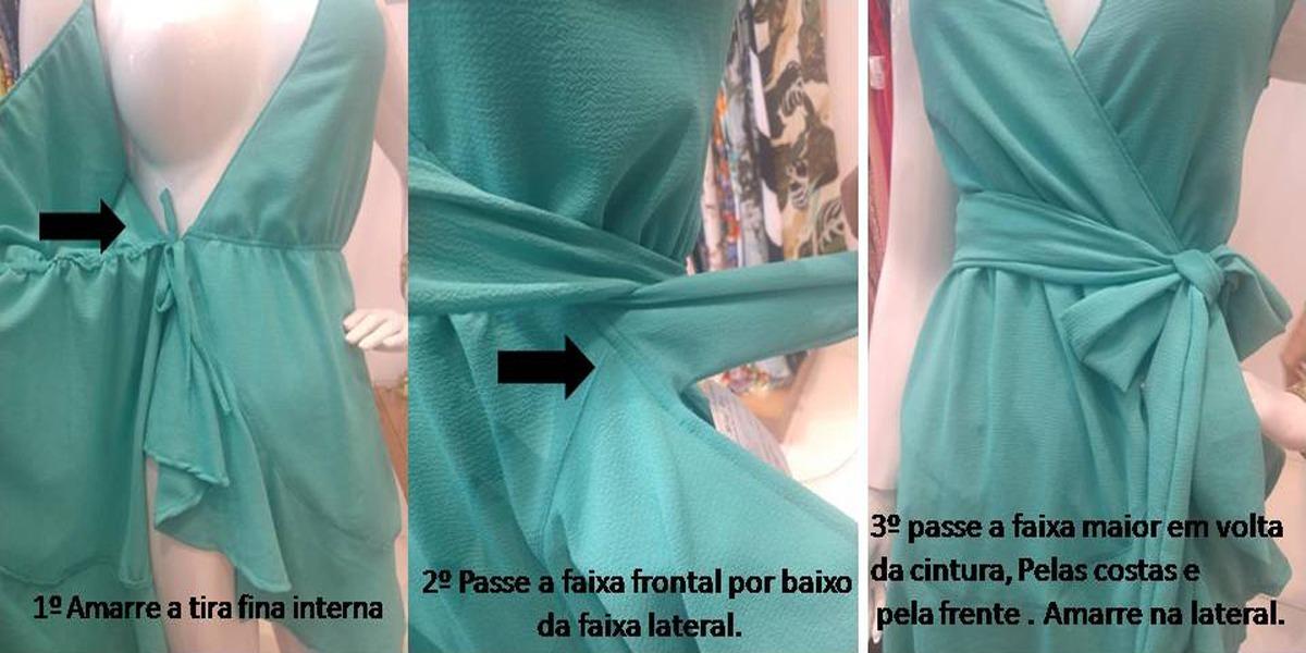 d98b421dc9 vestido envelope babado crepe verão promoção alça fina v5001. Carregando  zoom.