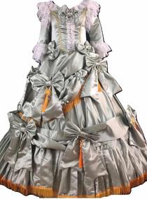 Vestido época Victoriana Renacimiento Siglo 19 Catrina