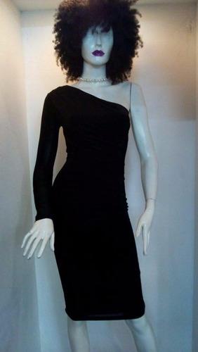 vestido escote sin manga
