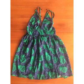 Vestido Estampado -importado Con Etiqueta.