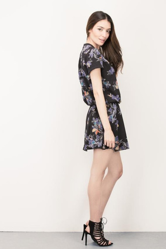 vestido estampado by koaj