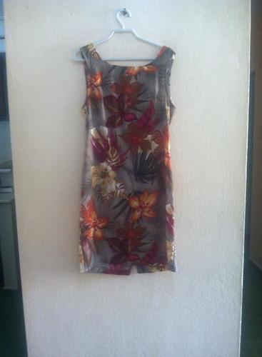 vestido estampado connected talla 10