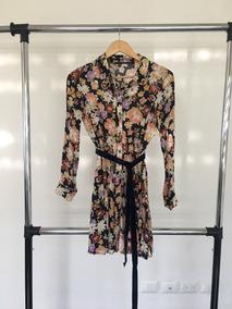 cc70c11f6 Vestido Flores Zara - Vestidos de Mujer Corto Rosa claro en Mercado ...