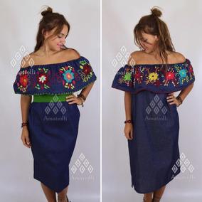 643f347fe3 Vestido Estilo Mexicano Con Bordados - Vestidos de Mujer en Mercado ...